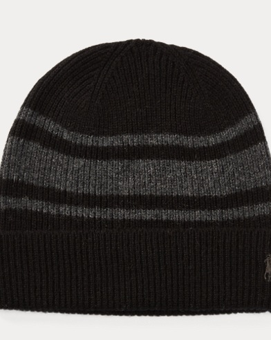 Rugby-Stripe Wool-Cashmere Hat