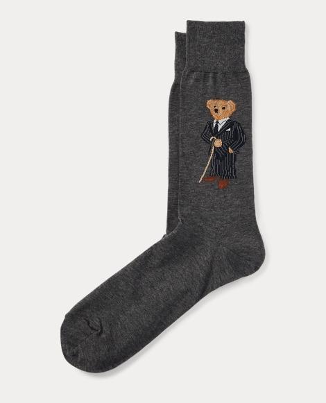 Banker Bear Trouser Socks