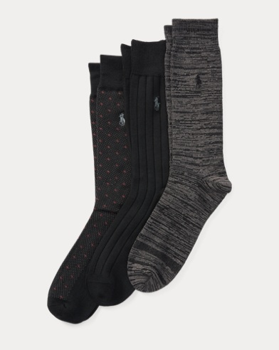 Supersoft Dotted Sock 3-Pack