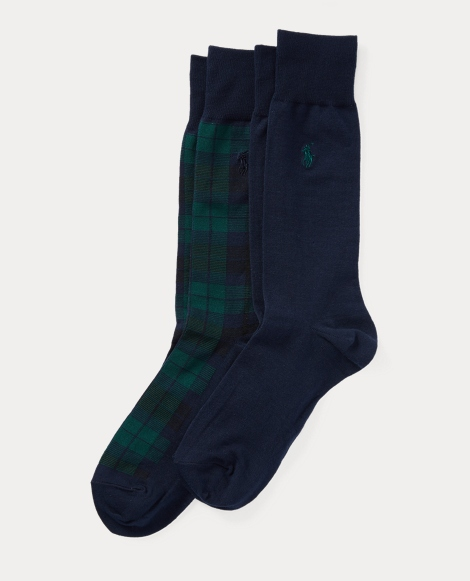 Tartan Plaid Sock 2-Pack