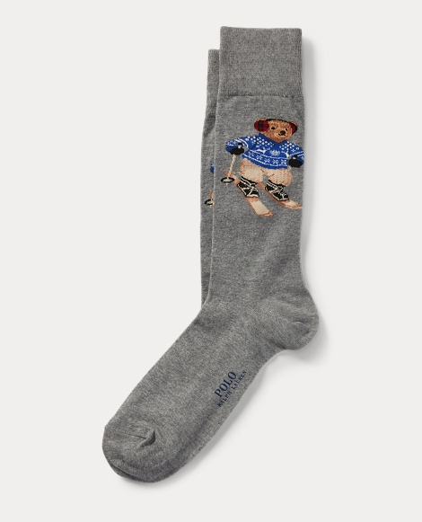 Ski Polo Bear Trouser Socks
