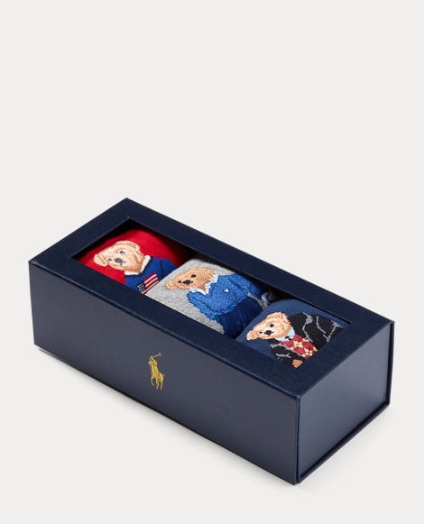 Polo Bear Socks Gift Set