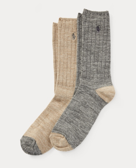 Cotton Ragg Boot Sock 2-Pack