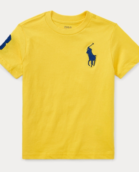 Big Pony Cotton Jersey T-Shirt