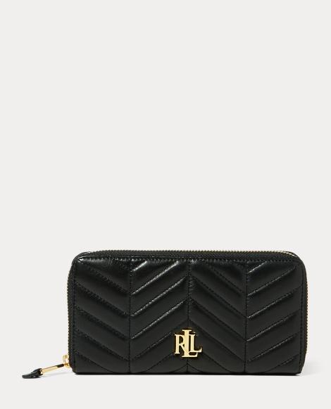 Quilted Carrington Zip Wallet