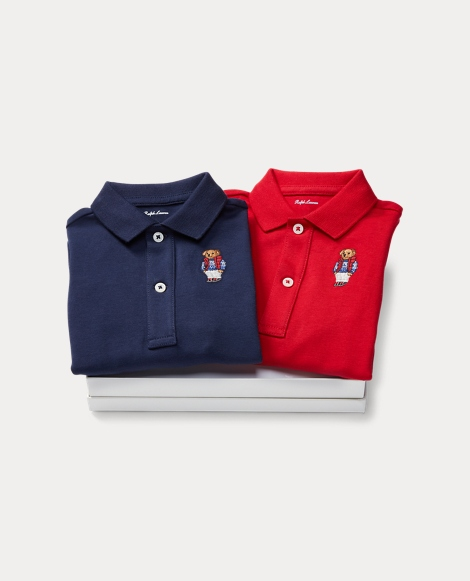 Polo Bear Coverall 2-Piece Set