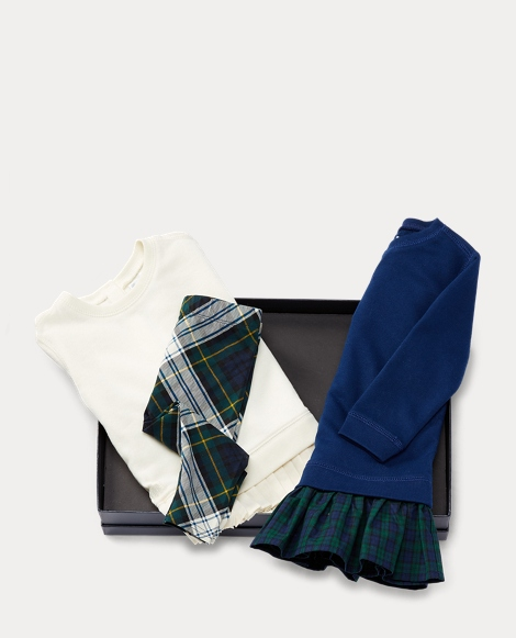 Plaid 4-Piece Gift Set