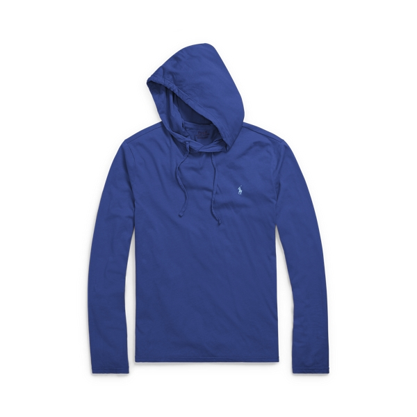 Ralph Lauren Weathered Cotton Hoodie Fall Royal 1X Big