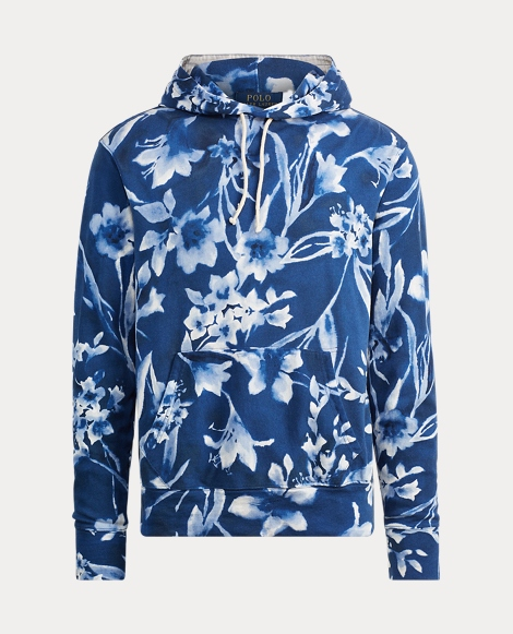 Floral Cotton Spa Terry Hoodie