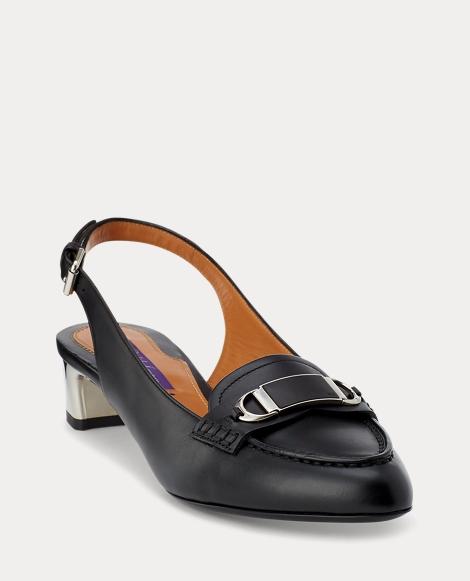 Aeva Calfskin Slingback Loafer