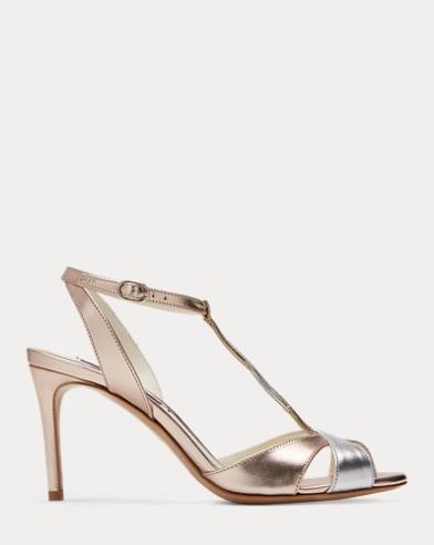 Solie Metallic Nappa Sandal