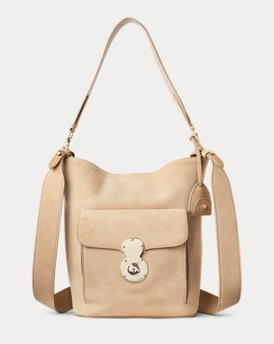 Suede RL Bucket Bag