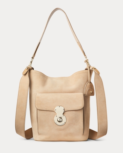 Suede RL Bucket Bag