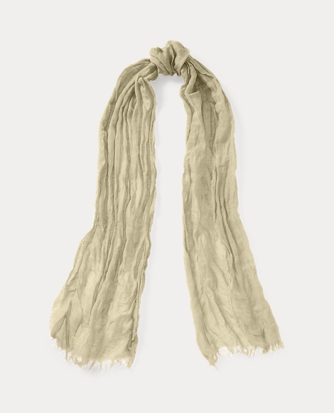 Linen-Cotton Scarf