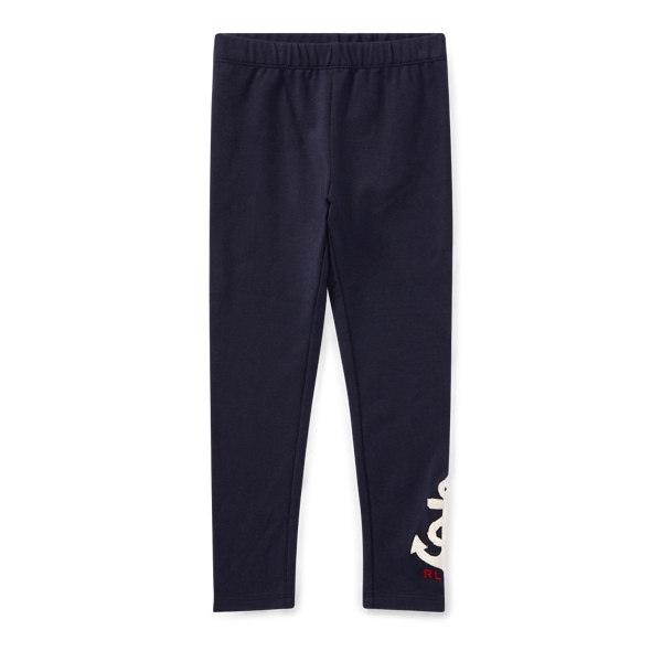 Ralph Lauren Nautical Embroidered Legging Hunter Navy 6X