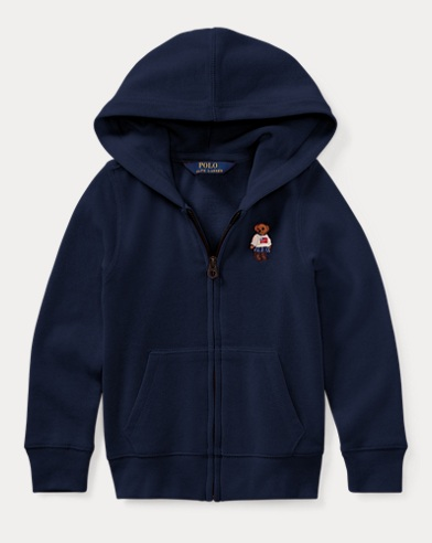 Polo Bear French Terry Hoodie