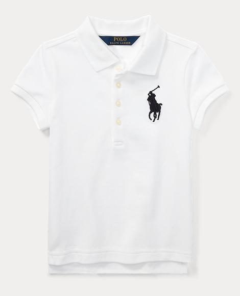 Big Pony Stretch Mesh Polo