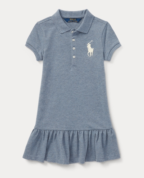Big Pony Mesh Polo Dress