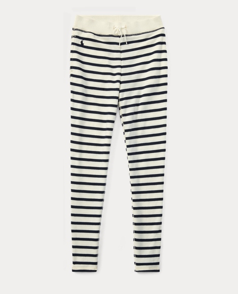 Striped French Terry Legging