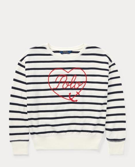 Polo Striped Terry Sweatshirt