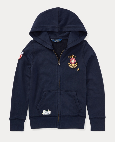 Patchwork French Terry Hoodie