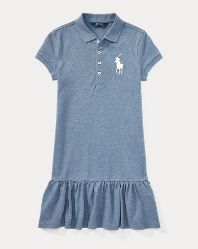 Big Pony Mesh Polo Dress