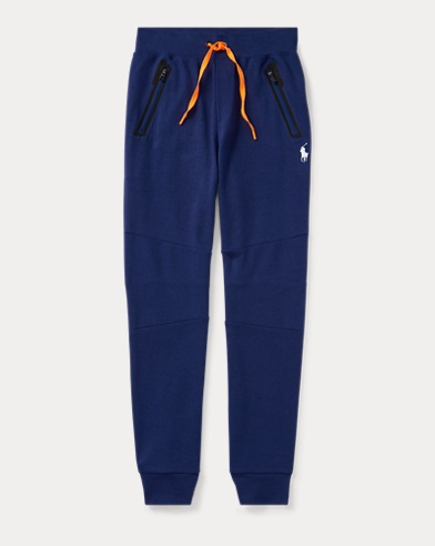 Cotton-Blend-Interlock Jogger