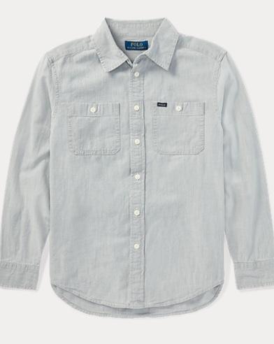 Cotton Chambray Workshirt