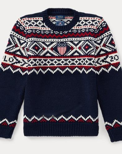 Team USA Wool-Blend Sweater