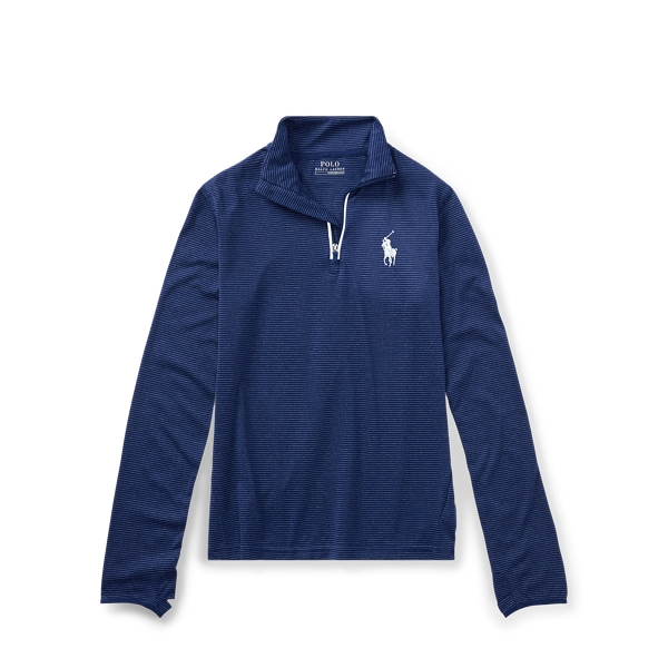 Ralph Lauren Stretch Jersey Pullover Fall Royal Multi S