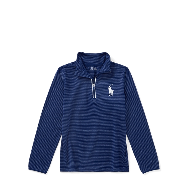 Ralph Lauren Stretch Jersey Pullover Fall Royal Multi 3T