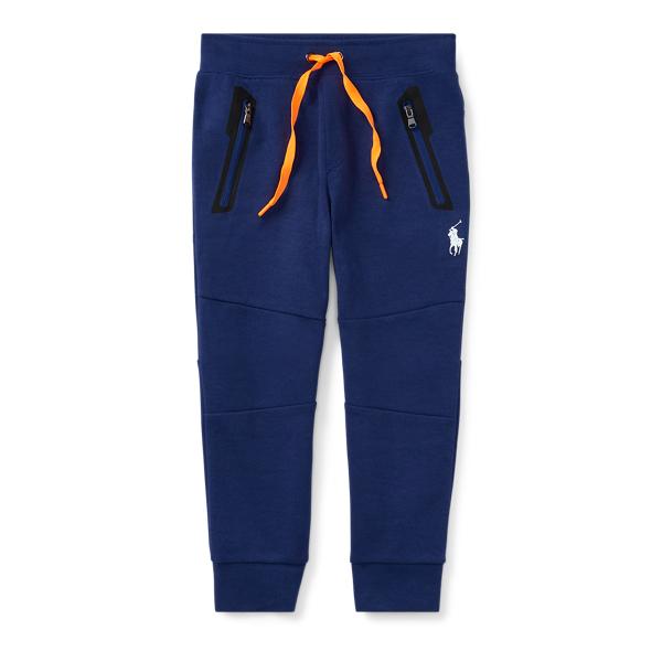 Ralph Lauren Cotton-Blend-Interlock Jogger Fall Royal 2T