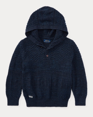 Cotton Hooded Sweater