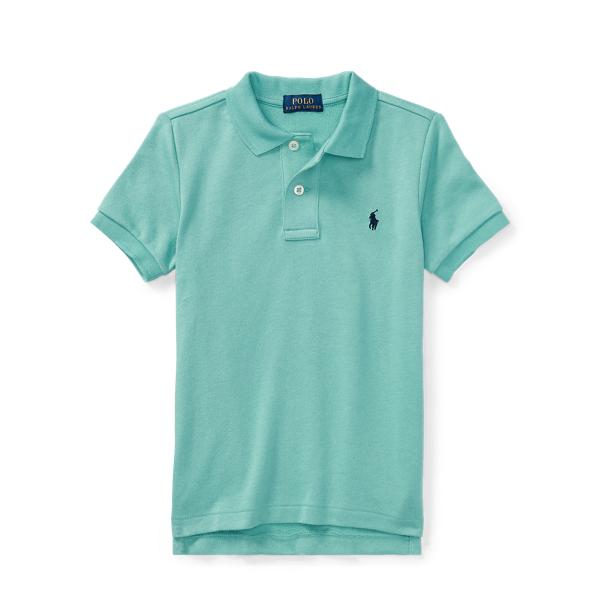 Ralph Lauren Cotton Spa Terry Polo Shirt Deep Seafoam 6