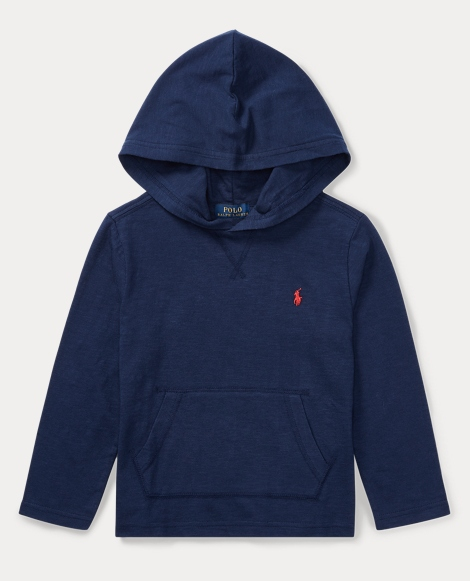 Slub Cotton Hooded T-Shirt