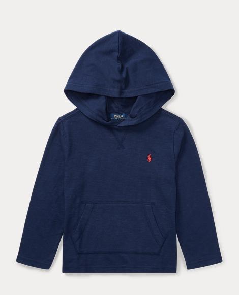 Slub Cotton Hooded T-Shirt
