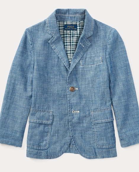 Cotton Chambray Sport Coat