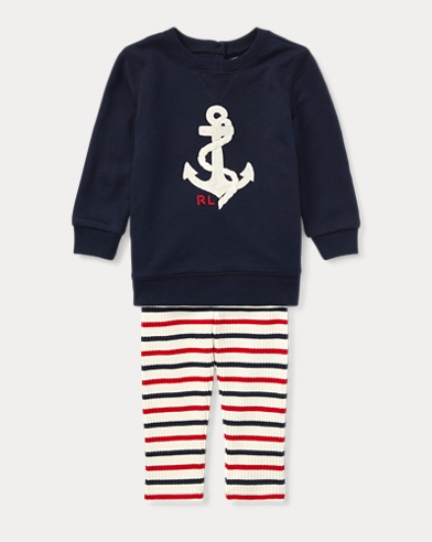 Anchor Top & Legging Set