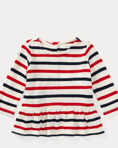 Striped Cotton Jersey Tunic