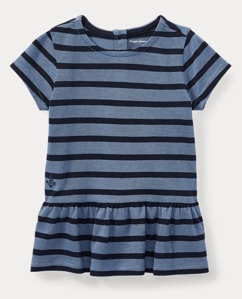 Striped Cotton Jersey Tunic