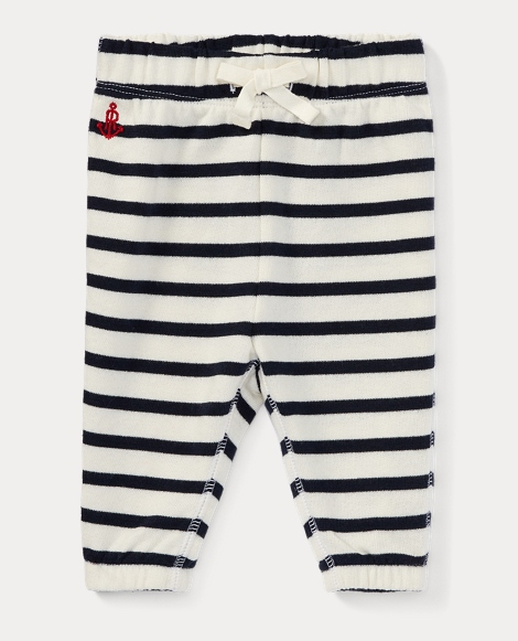 Striped Terry Jogger Pant