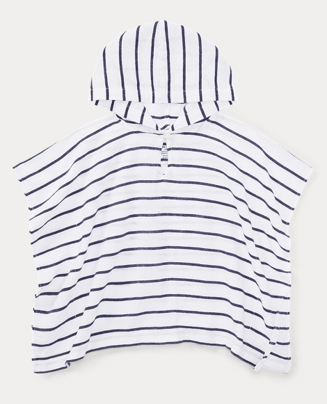 Striped Cotton Cover-Up