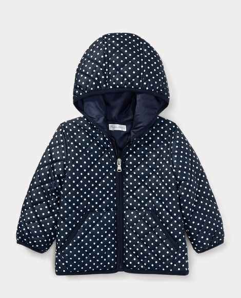 Dotted Quilted Full-Zip Jacket