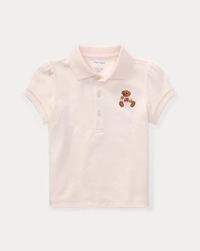 Polo Bear Cotton Polo Shirt