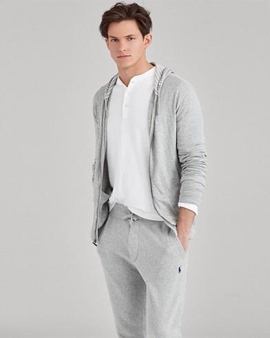 Jersey Full-Zip Hoodie