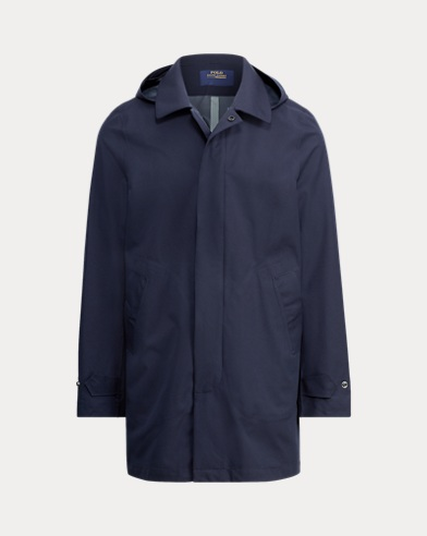 Waterproof Twill Coat