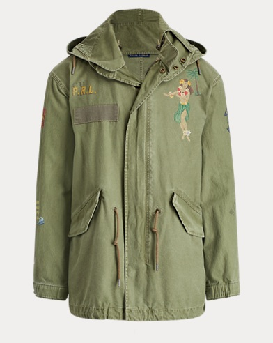 Souvenir Cotton Twill Parka