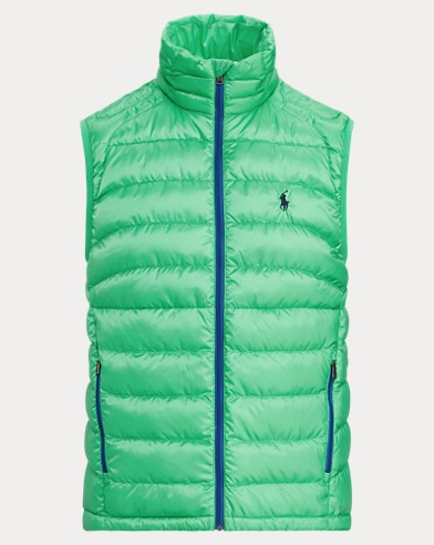 Packable Ripstop Down Vest