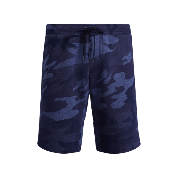 Ralph Lauren Camo Cotton-Blend Short Blue Camo Xs