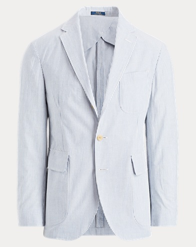 Morgan Seersucker Suit Jacket